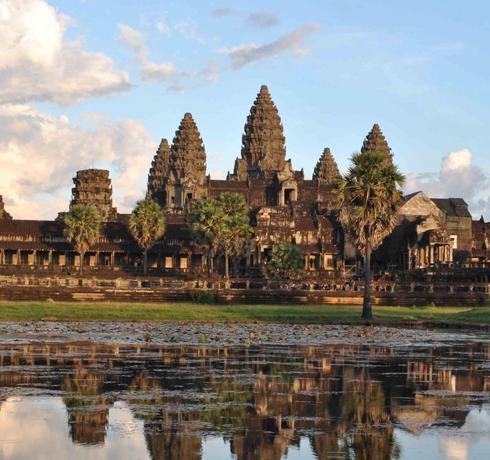 Du Mékong vietnamien au Temple d'Angkor